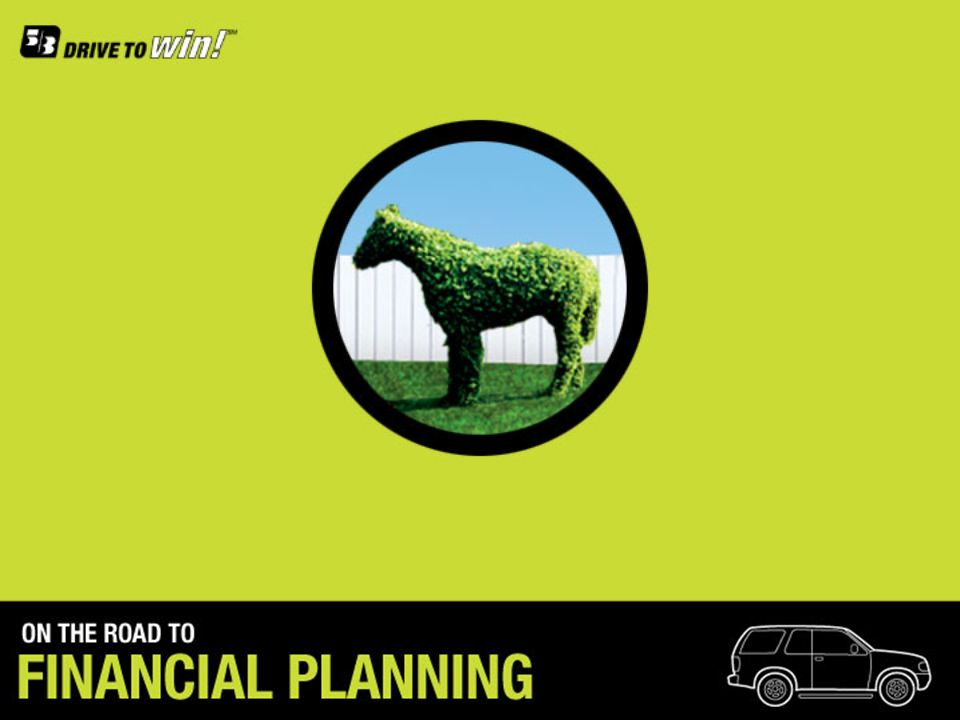 [click]Welcome to the Financial Planning presentation.